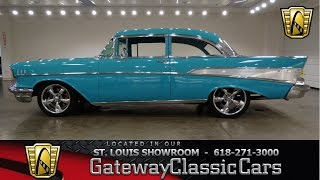 1957 Chevrolet Bel Air - Gateway Classic Cars St. Louis - #6686