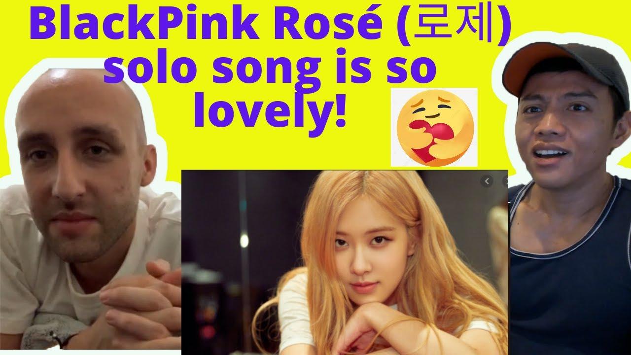 BlackPink Rosé (로제)  Solo Singing on Netflix Light Up the Night Sky Reaction