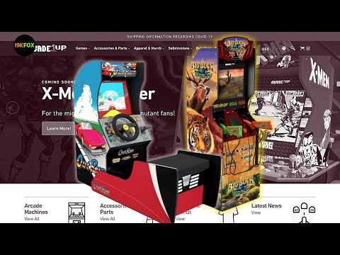 Cabinets IN STOCK At Arcade1up.com from 19kfox