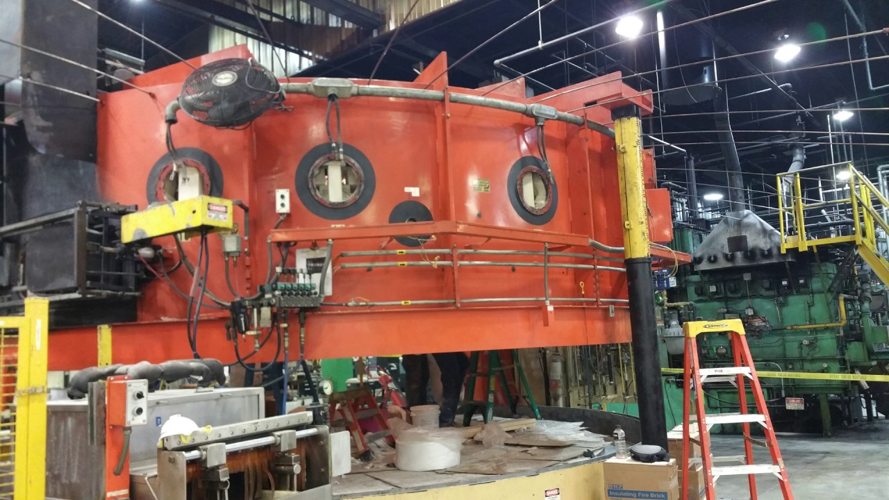 HTSU Completes Rebuild of a 16' Rotary Hearth Furnace ...