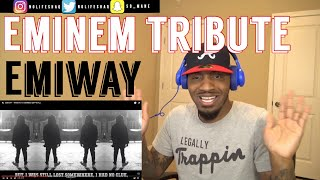First time hearing Indian HipHop!!! | EMIWAY - TRIBUTE TO EMINEM | REACTION