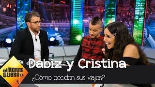Dabiz Muñoz confiesa como decide sus viajes con Cristina Pedroche - El Hormiguero 3 0