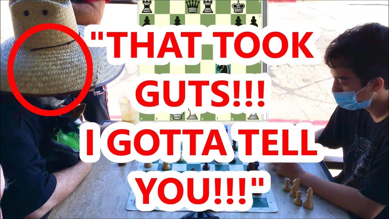 Gutsy Game vs Chess Master Ends With Brutal Mate! Kaiski vs FM Mark The Duck