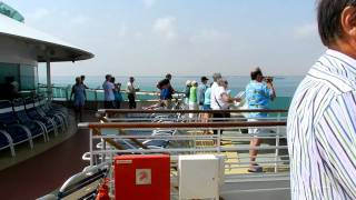 Suez Canal from Cruise Ship - Royal Caribbeans