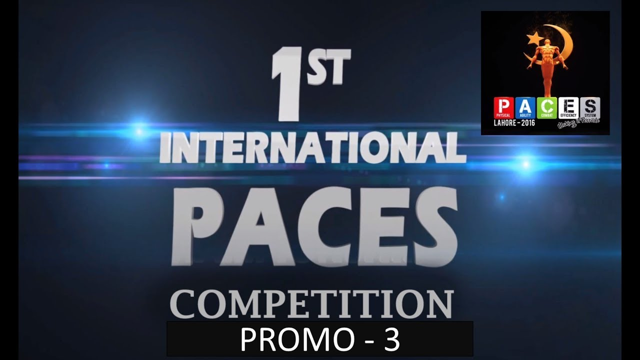 1st International PACES Competition - 2016 Promo 03