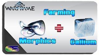 Warframe - How to Farm Morphics and Gallium Easiest Fastest Way
