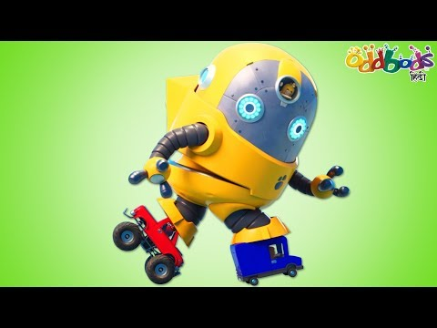 Oddbods | Bumblebee - 啶啶掂ぐ啶� | Funny Cartoons For Children