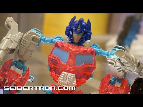 Transformers Construct-Bots, Kre-o, Rescue Bots displays at BotCon 2013