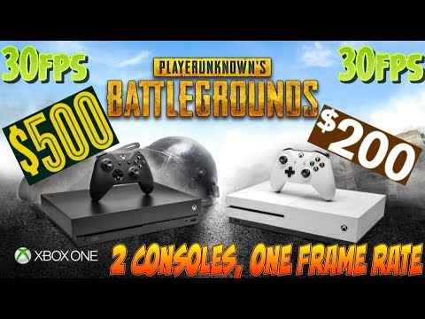 PUBG WILL BE 30FPS ON THE XBOX ONE X HOLD THIS L MICROSOFT