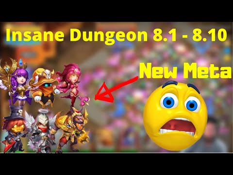 New Meta | Insane Dungeon 8 Complete | Must Watch | Castle Clash