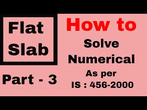 Flat Slab Design Example (Part 2)