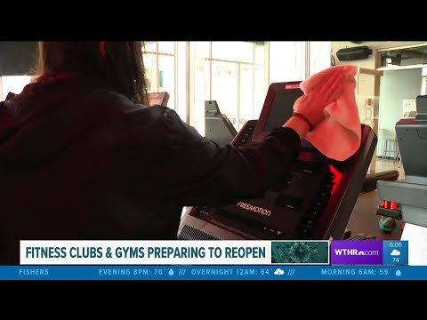 Fitness clubs and gyms prepare to reopen