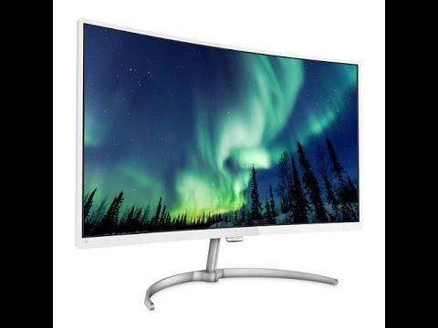 Philips 超高cp值 27吋 Full HD 曲面螢幕簡單評測