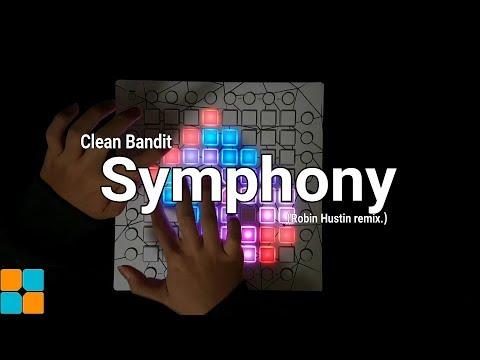 Clean Bandit - Symphony (Robin Hustin remix.) (Phantom Launchpad cover.) (Unipad ver.)