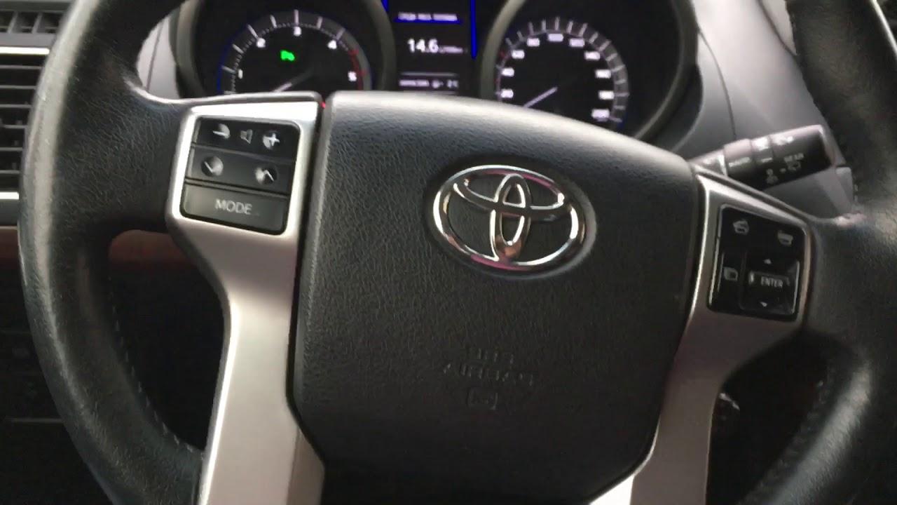Сброс датчика давления в шинах Toyota Land Cruiser Prado