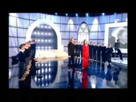 Nana Mouskouri & Herbert Leonard -  Je Chante Avec Toi Liberté  - In Live -