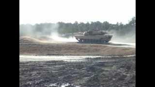 Abrams Firing Main Gun