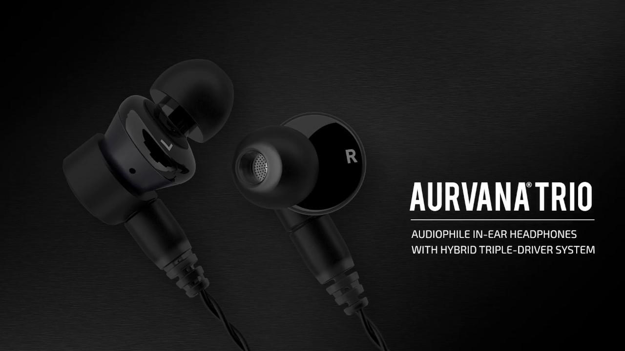 Creative Aurvana Trio Audiophile In-Ear Earphones with Hybrid Triple-Driver  System 595d7fbfaa2e