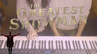 🎵The Greatest Showman OST Medley - 4hands piano