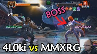 Alliance War: 4L0ki -vs- MMXRG with Void, Spark, Blade | Marvel Contest of Champions