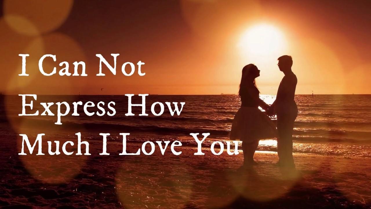 Romantic Love Whatsapp Status Video // I Can't Express ...