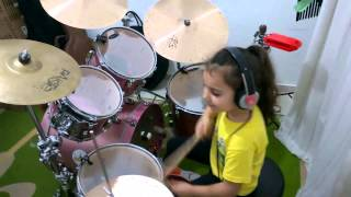 System Of A Down - Toxicity   Drum Cover   Eduarda Henklein  5 Years-old