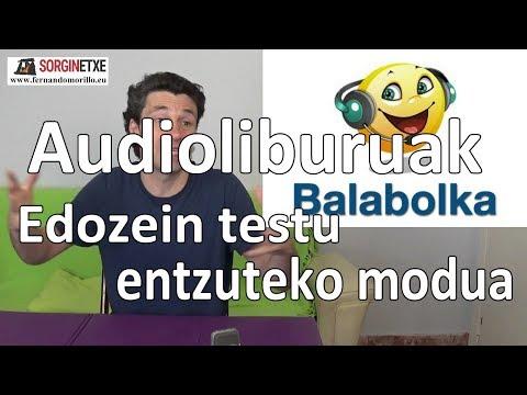 Audioliburuak. Edozein testu entzuteko modua - Fernando Morillo (Sorginetxe)