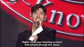 동방신기(TVXQ!)- 개인인사  with SMTOWN Live CONCERT(에스엠타운 라이브콘서트)