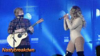 Beyonce & Ed Sheeran - Drunk In Love AUDIENCE VIEW (Global Citizens Festival 2015)
