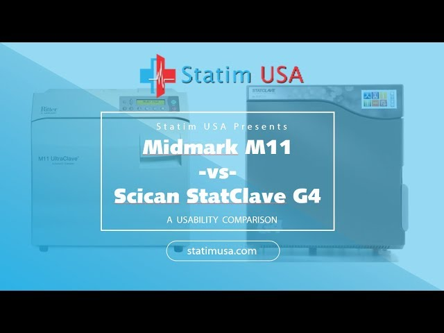 Midmark M-11 vs Scican Statclave G4