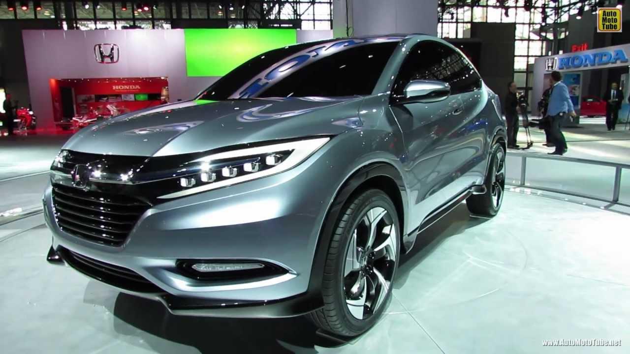 2015 Honda Urban SUV Concept - Exterior Walkaround - 2013 New York ...