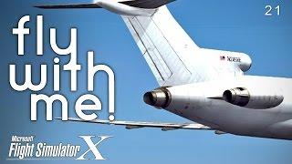 Microsoft Flight Simulator X - IFL Group 727 Part II