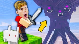 GUERRA NO MINECRAFT ☆ GATO GALÁCTICO vs 4 WITHERS ☆
