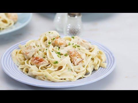 Chicken Alfredo Pasta Recipe | Yummy Ph
