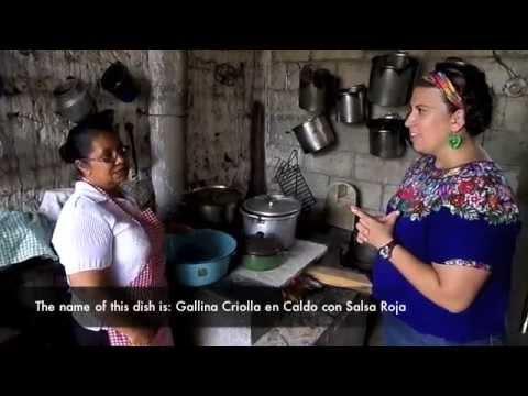 Pollo criollo en salsa - Organic Chicken Soup -(Peace Corps Guatemala)