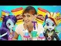 Видео для Детей. Веселая школа с Машей и Эквестрия Герлз