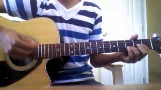 Barak alli quiero estar tutorial En la guitarra