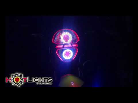 Rusi Mojo AES HID n Led Projector Set up By HotLights Philippines