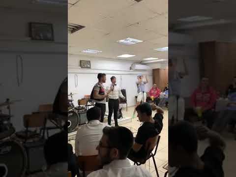 Moishy Sharf Singing Ad Olam By YBC At Yeshiva Imrei Binah In Israel
