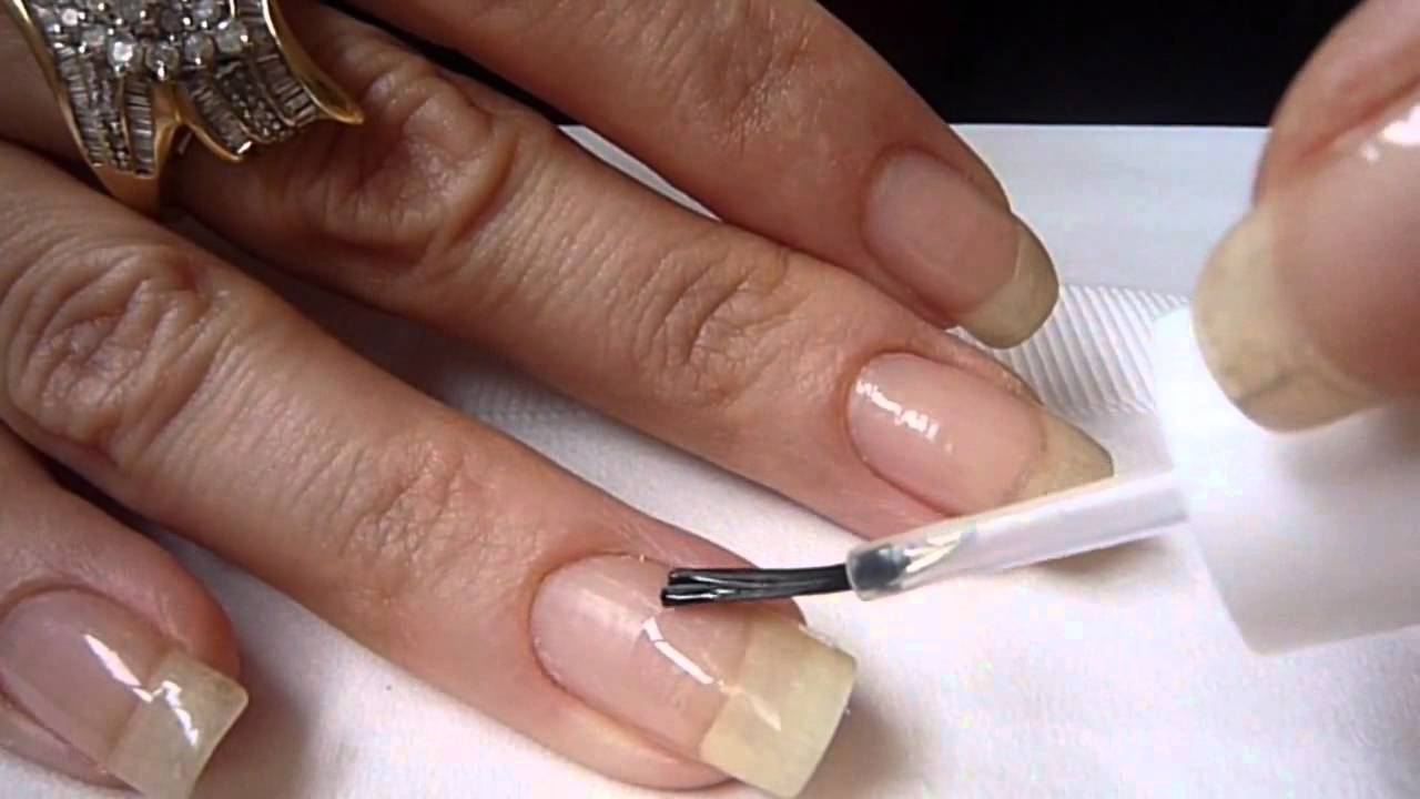 ASP Lightless Gel Nail Repair - YouTube