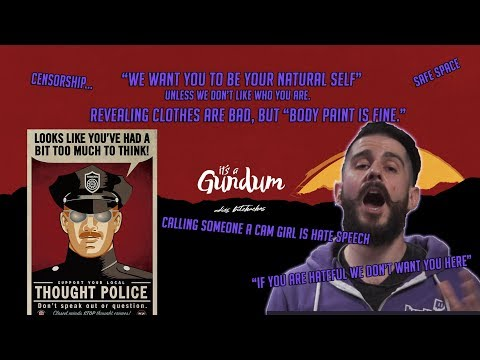 The Thought Police are here! The New Twitch community Guidelines