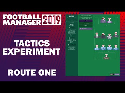Football Manager 2019 Experiment | Tactics Testing | Route