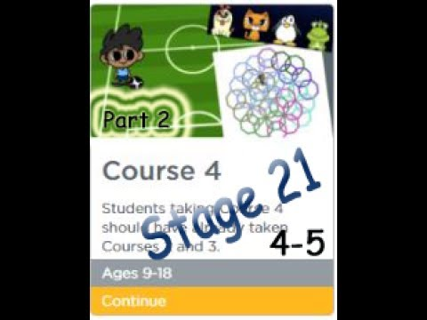 Code.org Course 4, Stage 21, Puzzle 4-5