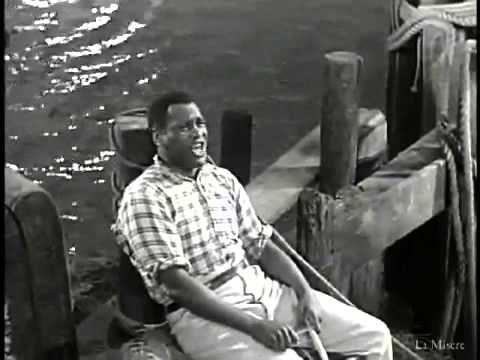Ol' Man River (Show Boat, 1936), Paul Robeson