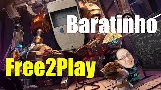 PC Baratinho para MOBAs e Free-to-Play