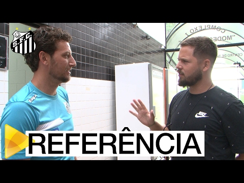 Scout do Wolfsburg visita as dependências do Santos FC