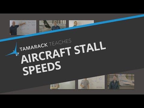 Aircraft Stall Speeds