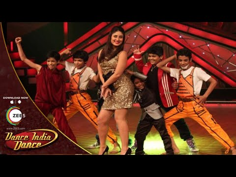 BEAUTIFUL Kareena Kapoor Magical Performance On Dance India Dance - FULL EPISODE