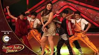 Bollywood Celebrities On The Sets Of Dance India Dance