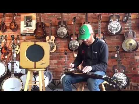 Todd Livingston serves up some soul on a vintage Gibson EH-150 Lap Steel Set